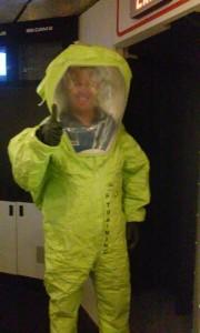 bsb hazmat suit- robotic specialist